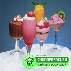 рецепты холодных молочных коктейлей