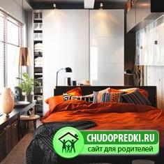 Шкаф - купе для маленькой спальни