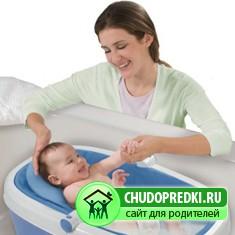 Как правильно купать новорожденного?