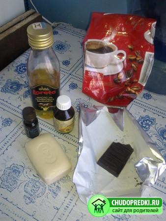Мастер класс. Шоколадно-кофейное мыло