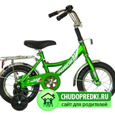 четырехколесный велосипед для малыша