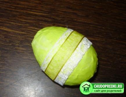 Пасхальное яйцо. Мастер класс