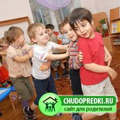 Игры летом в детском саду