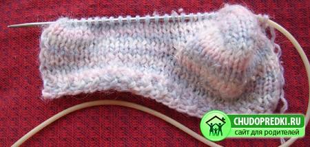 Вязание носочков. Мастер класс