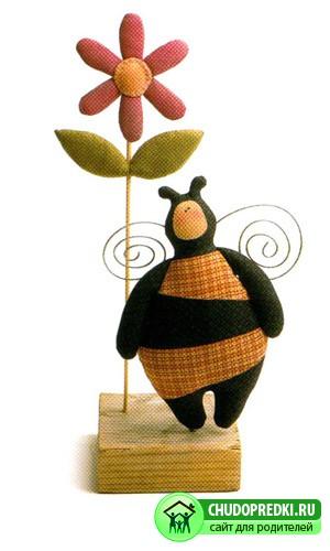 Выкройки Тильды. Пчелка