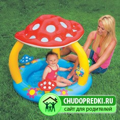 Надувные бассейны для детей. Тонкости выбора