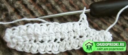 Вязание. Кайма. Мастер класс