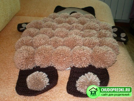 Рукоделие, детский коврик