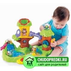 Популярные игрушки для ребенка 1 год