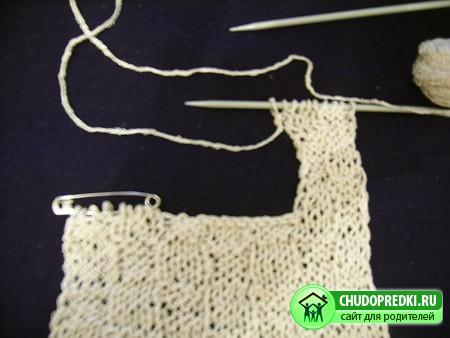 Вязание на спицах для девочки