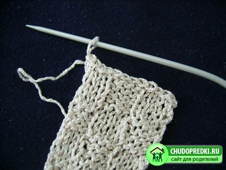 Вязание на спицах. Мастер класс