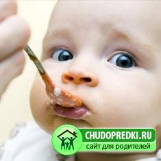 О питании детей до одного года