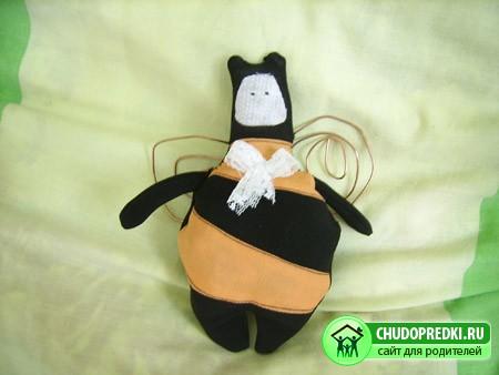 Тильда - пчела. Мастер-класс
