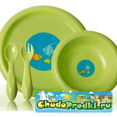 Детская посуда. Какую выбрать?