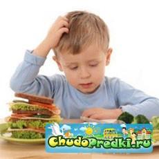Правильное питание ребенка - дошкольника