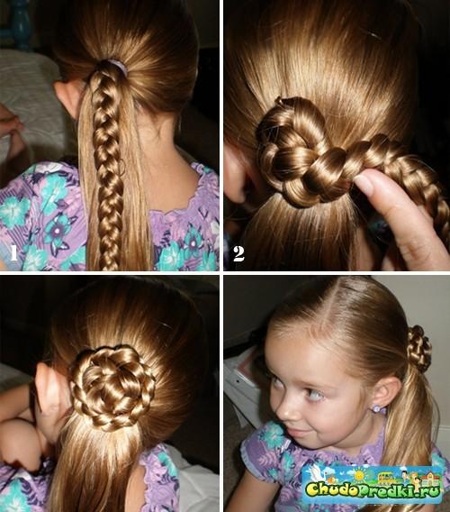 Детские прически для девочек на короткий волос фото и как их делать