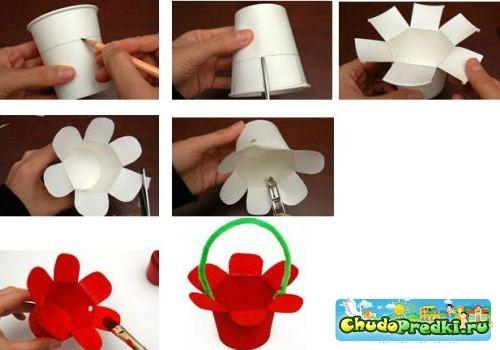 Поделки своими руками для детей простые