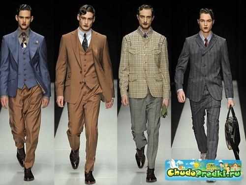 мода на мужские костюмы 2013