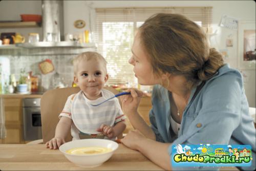 Молочные каши для детей