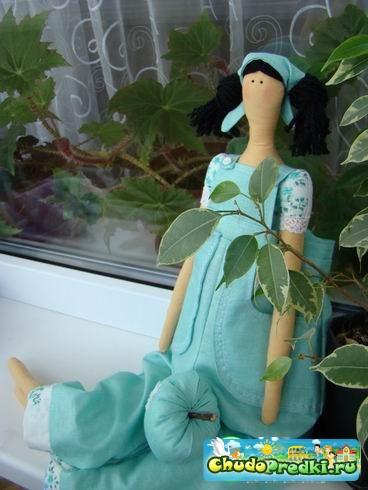Волосы для куклы Тильда - идеи