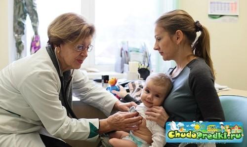 Обследование детей