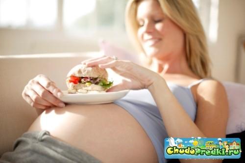 Я поправилась во время беременности. Что делать?