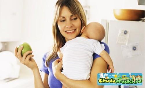 Рацион питания кормящих матерей