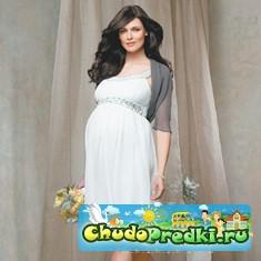 Как выбрать свадебные платья для будущих мам?