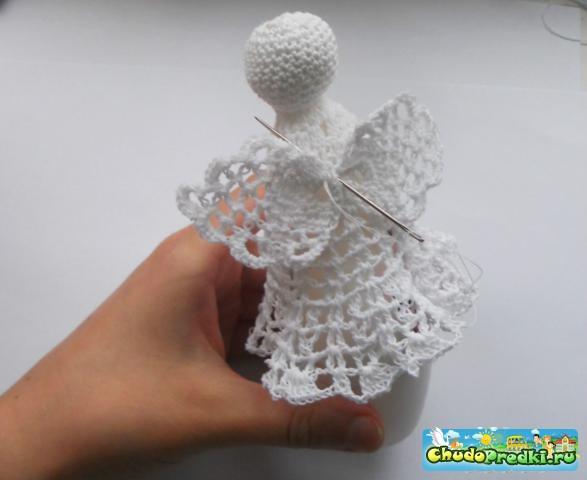 Вязание. Ангел рождественский. Мастер-класс