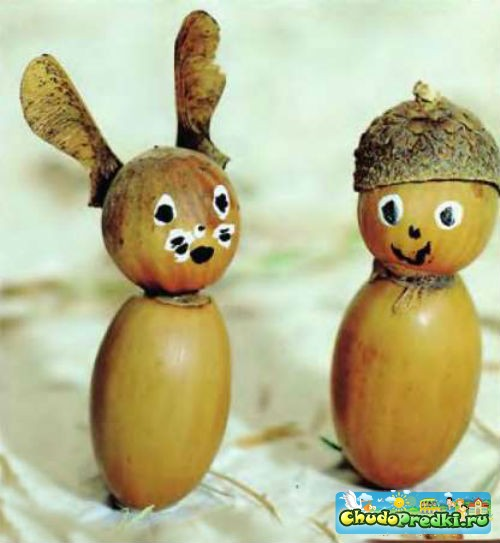 Поделки из арахиса 5