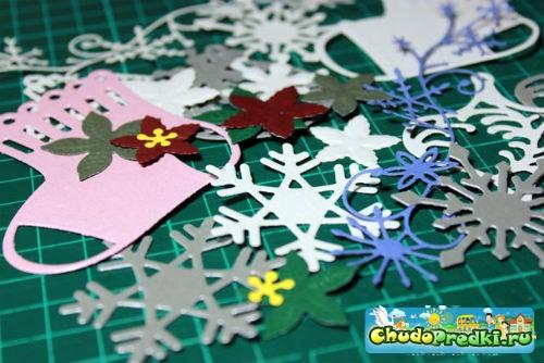 Новогодние поделки из бумаги своими руками