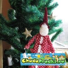 Тильда Санта Клаус.