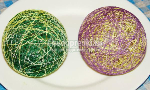 ажурные шарики своими руками