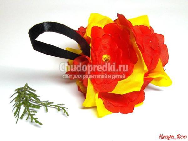 елочные игрушки цветочная поляна