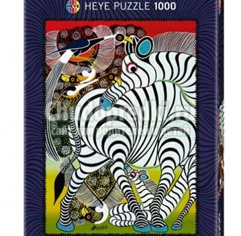 пазл зебра