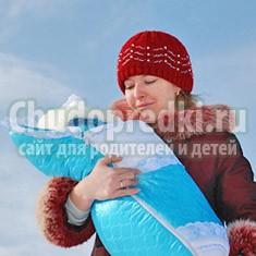Какие бывают зимние конверты для новорожденных?