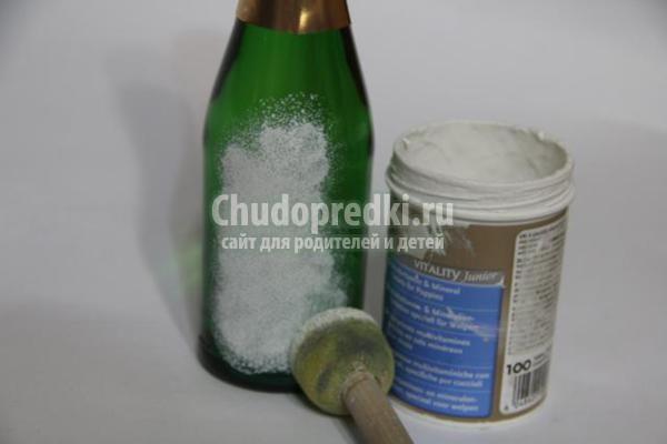 Фото пошагово декупажа бутылок