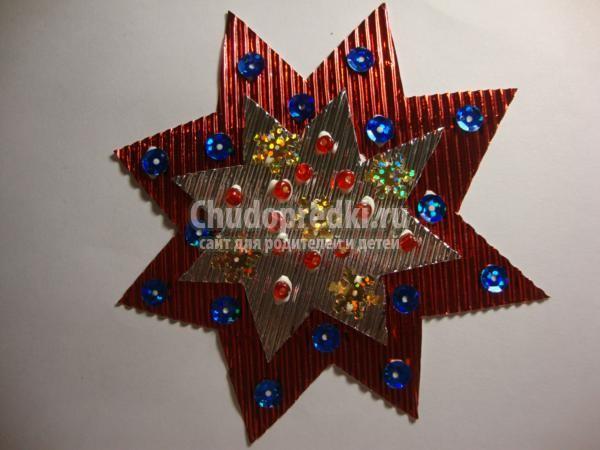 поделки к Рождеству. Рождественская звезда