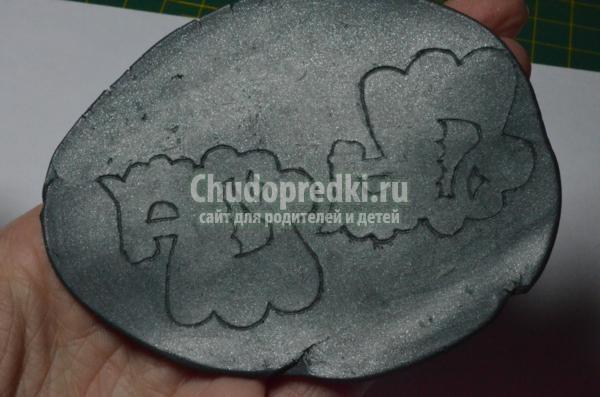 серёжки из полимерной глины. Лошадки