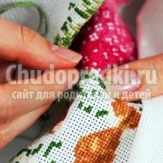 Правила вышивки крестиком
