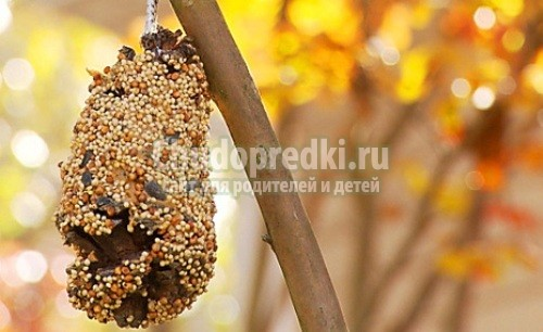 Осенние поделки из природных материалов для детей