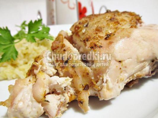 курица с итальянскими травами