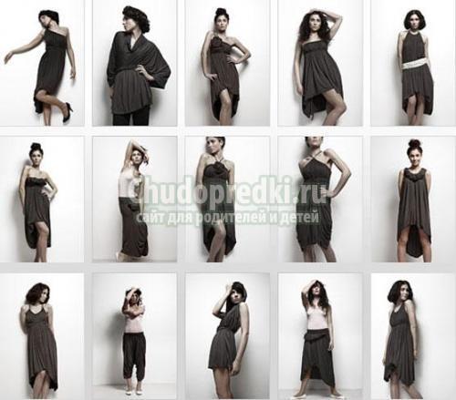 Платья без вытачек своими руками