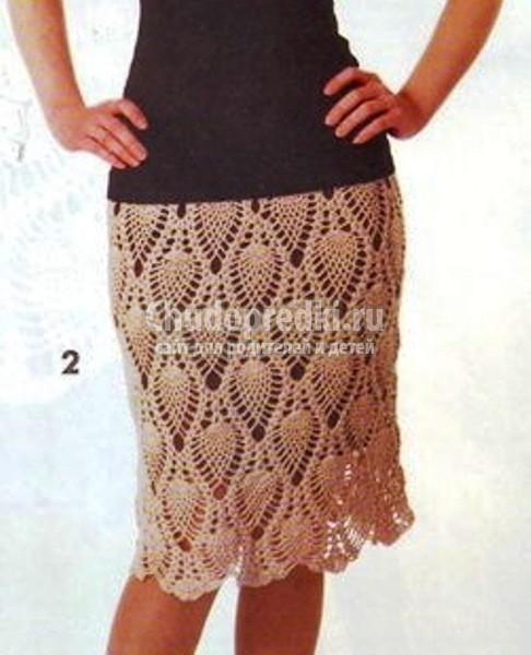 25726ffb9e6 Вязаные юбки - схемы