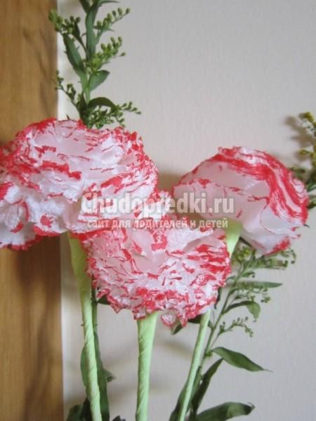 Цветы своими руками из бумаги