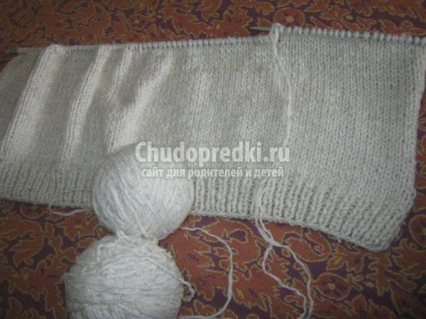 вязание спицами безрукавки для девочки на 2-3 года