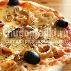 Пицца с креветками – пальчики оближешь!