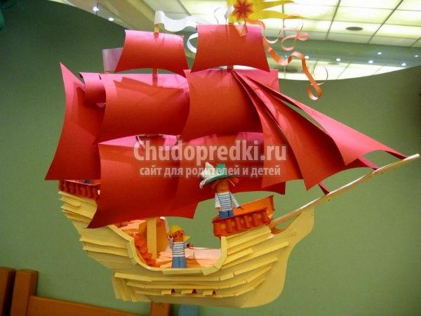 Кораблик из газеты своими руками