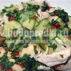 Салат из курицы и огурцов: отличные рецепты