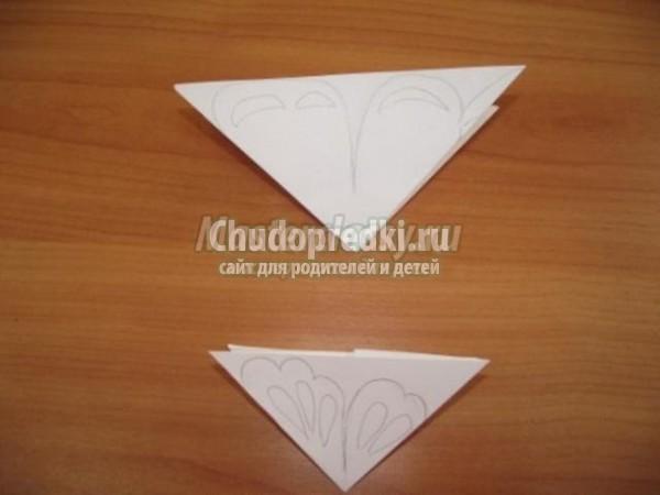 детские поделки из бумаги